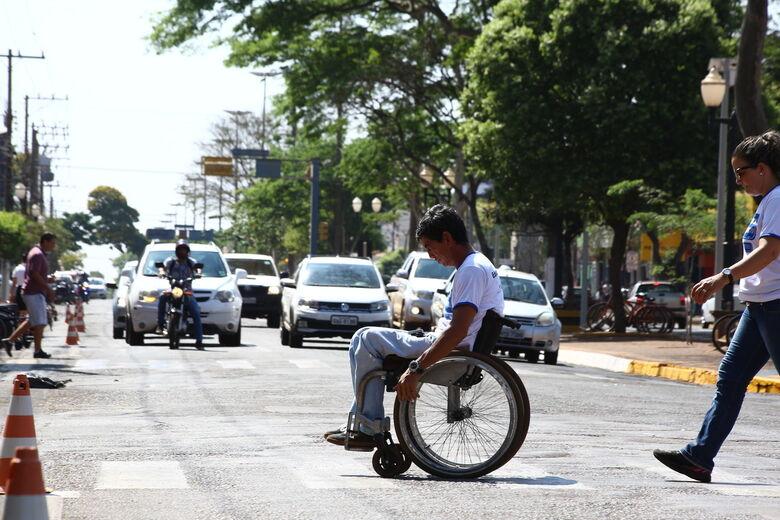 Blitz do Dia Nacional da Luta das Pessoas com Deficiência acontece na sexta-feira, dia 21. - Crédito: A. Frota