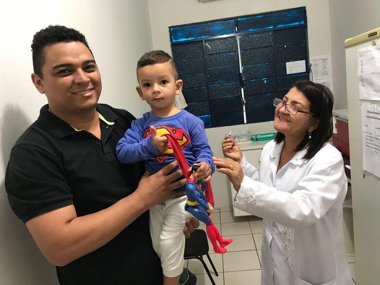 Dourados alcança meta de vacinação contra a pólio e o sarampo - Crédito: A. Frota