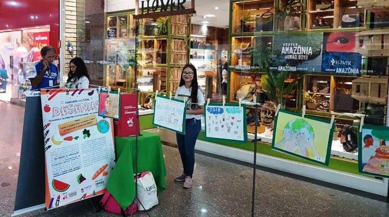 Conselho de Segurança Alimentar conclui concurso cultural de desenho - Crédito: Sivulgação/SEMAS
