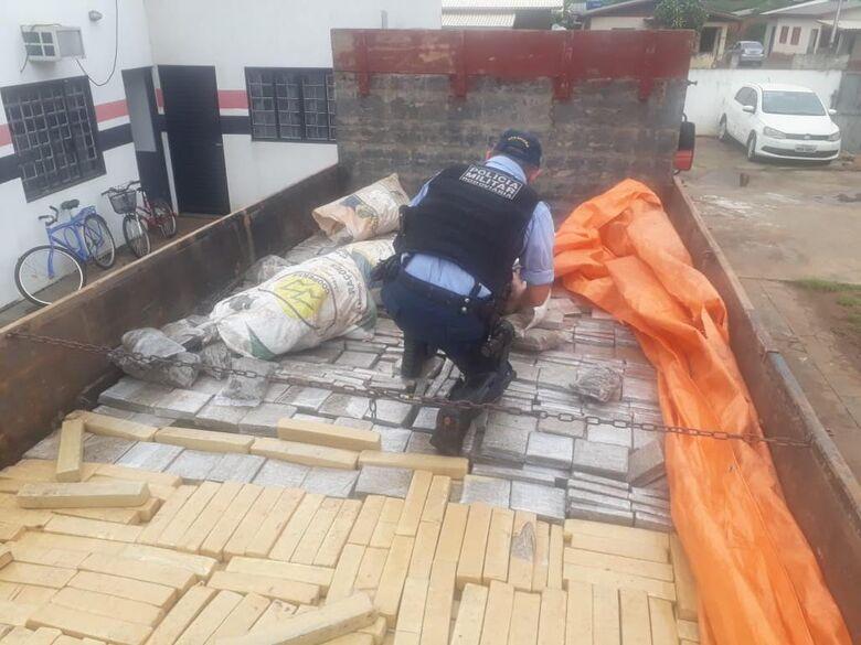 PMRv apreende mais de 2 toneladas de maconha durante operação MS 41 - Crédito: Divulgação/PMRv