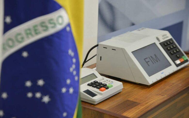 Confira qual é a ordem de votação na urna eletrônica - Crédito: Arquivo