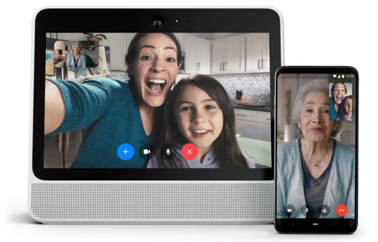 Facebook lança auto-falante inteligente para chamadas de vídeo do Messenger - Crédito: Divulgação