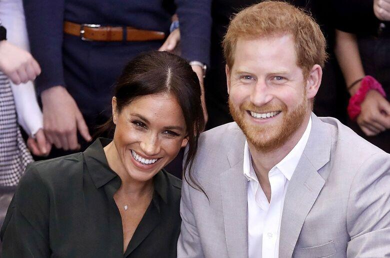 Príncipe Harry e Meghan esperam primeiro filho - Crédito: Chris Jackson/AP