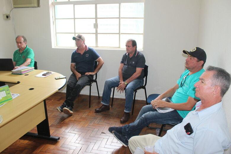 Reunião na sede da FFMS ocorreu na terça-feira - Crédito: Divulgação/FFMS