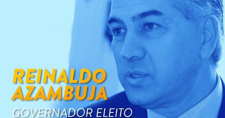 Com Murilo Zauith de vice, Reinaldo comemora reeleição - Crédito: Arquivo