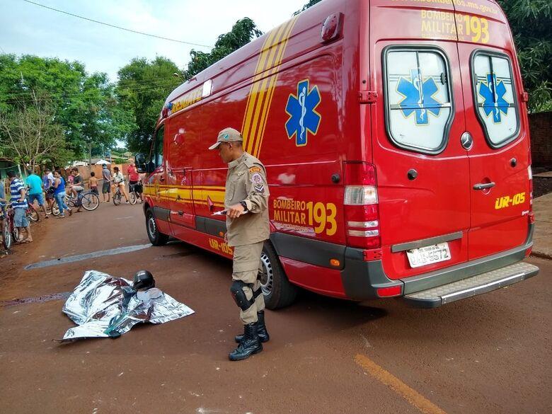 Mais um acidente fatal no final do feriadão - Crédito: Cido Costa