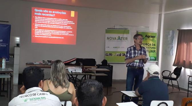 Curso de formação continuada da Anater é promovido em Dourados - Crédito: Agraer