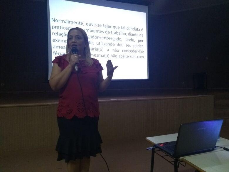 Campanha de enfrentamento à violência contra a mulher mobilizou população - Crédito: Divulgação