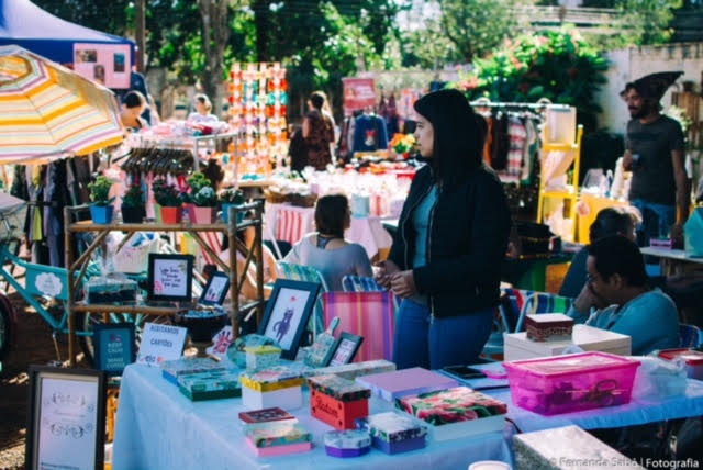 Domingo acontece O Balaio-Feira Criativa, no Parque dos Ipês - Crédito: Divulgação