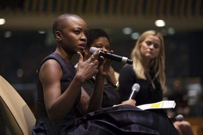 Estrela de 'Pantera Negra' é nomeada embaixadora da ONU Mulheres - Crédito: Ryan Brown/ONU Mulheres