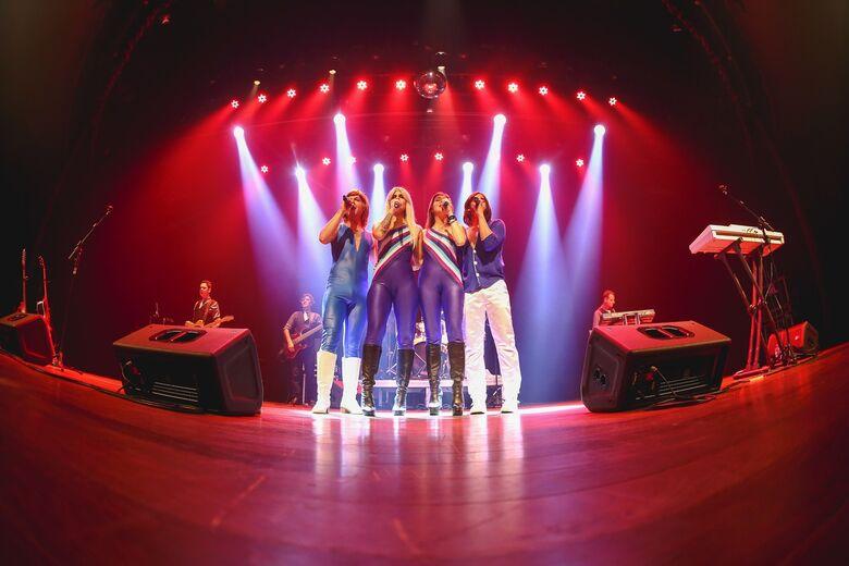 """Dourados recebe musical """"ABBA The History - A Salute To Abba"""" em fevereiro - Crédito: Divulgação"""