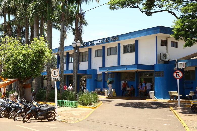 Hospital da Vida é selecionado entre 12 no país para projeto do Ministério da Saúde - Crédito: A. Frota