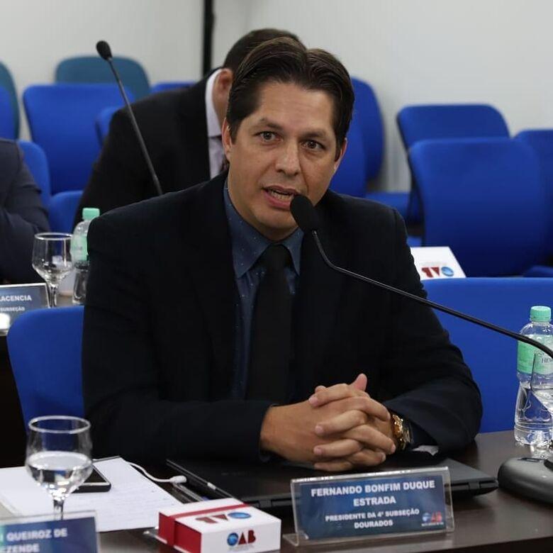 Colégio de Presidentes da Ordem dos Advogados do Brasil acontecerá em Dourados - Crédito: Divulgação