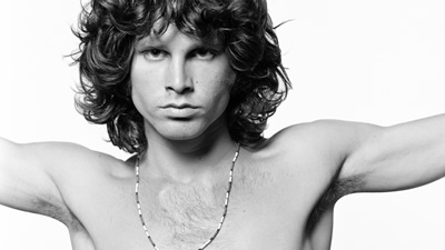 Fãs mantêm viva a lenda de Jim Morrison, que completaria 75 anos - Crédito: Arquivo