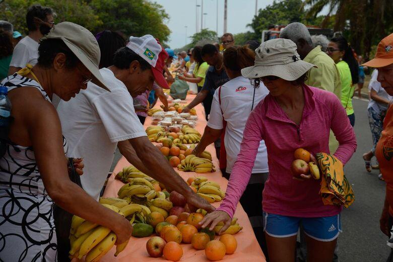 Campanha Natal sem Fome distribui 200 toneladas em cestas básicas - Crédito: Tomaz Silva/Agência Brasil