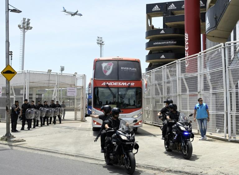 River e Boca iniciam preparação para inesperada final em Madri - Crédito: AFP/Juan Mabromata