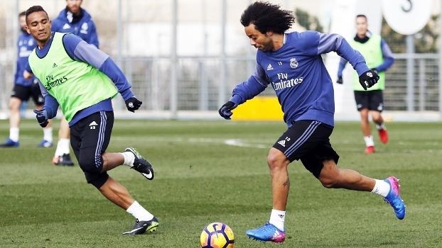 Real Madrid parte para Abu Dhabi em busca do terceiro Mundial consecutivo - Crédito: ANGEL MARTINEZ/REAL MADRID/GETTY IMAGES