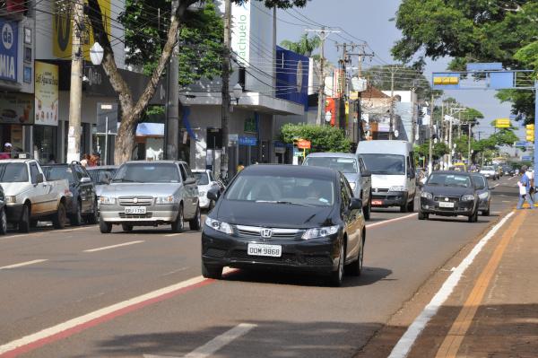 Dourados possui seu próprio aplicativo de transporte, conheça o 24horas - Crédito: Hedio Fazan