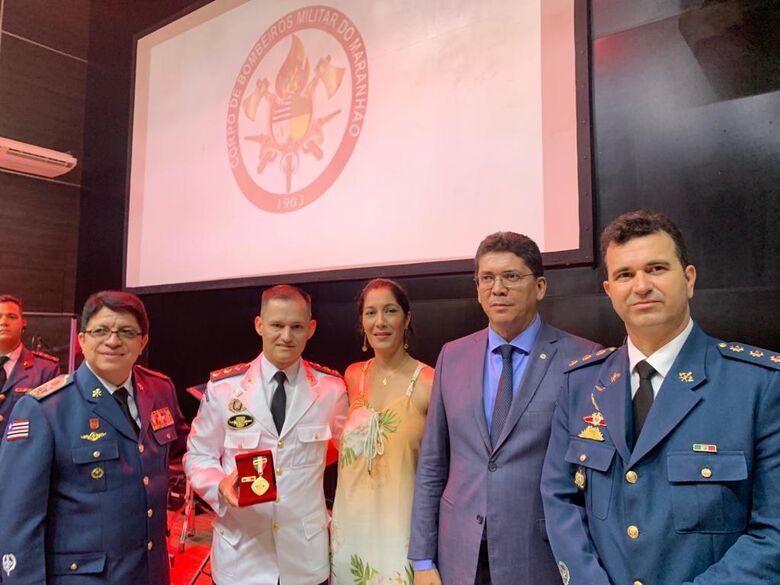 Comandante dos Bombeiros de Dourados é homenageado - Crédito: Divulgação