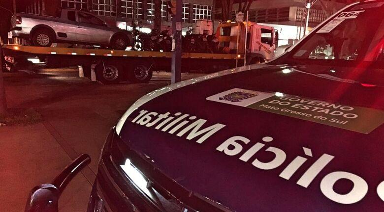 PM divulgou balanço do final de semana - Crédito: Divulgação/PM