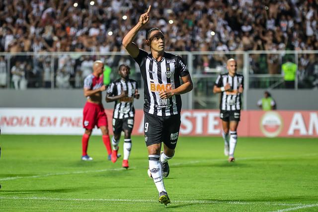 Ricardo Oliveira fez dois gols no jogo - Crédito: Bruno Cantini / Atlético
