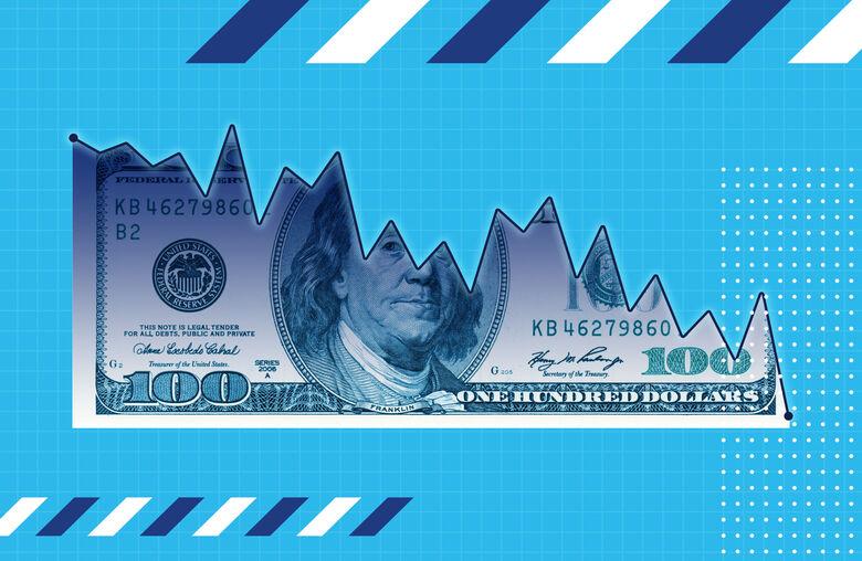 Ibovespa opera em queda, com dólar em R$ 3,67 - Crédito: Pedro Rocha