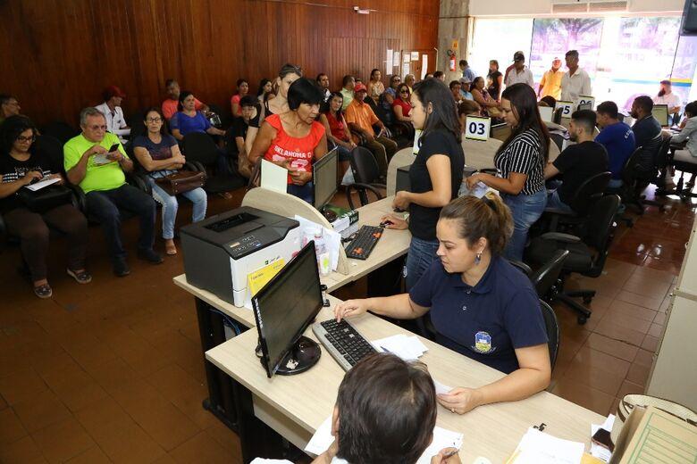 Contribuinte ganhou mais três dias para pagar a primeira parcela do IPTU ou quitar o imposto em cota única - Crédito: A. Frota