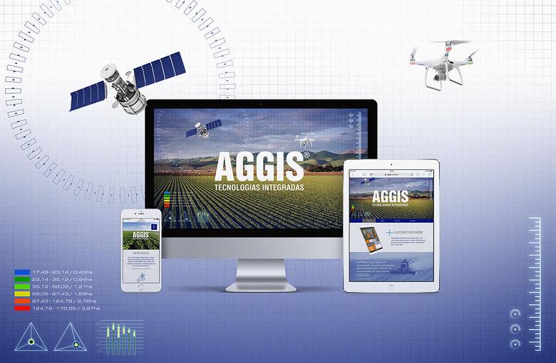 Novo site da AGGIS Tecnologias Integradas - Crédito: Pedro Rocha