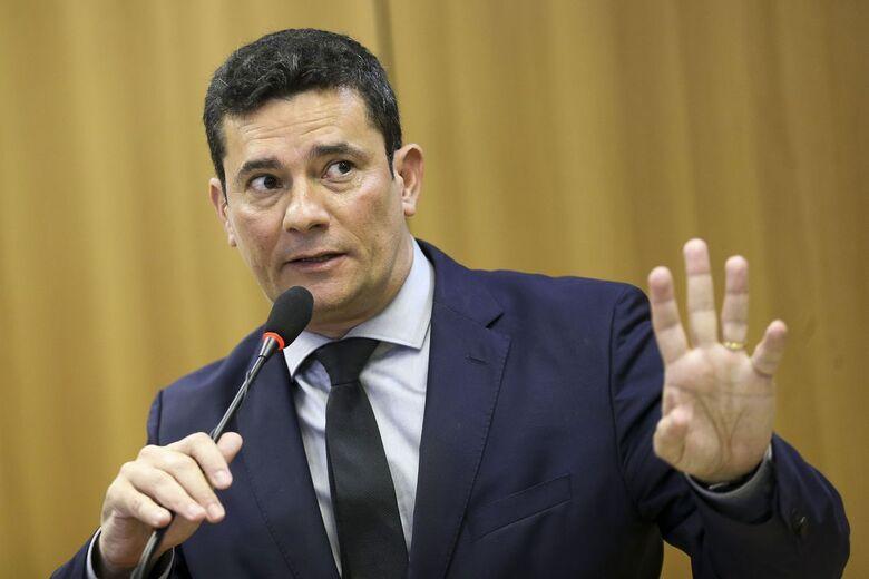 Moro detalha para deputados projeto de lei anticrime - Crédito: Marcelo Camargo/Agência Brasil