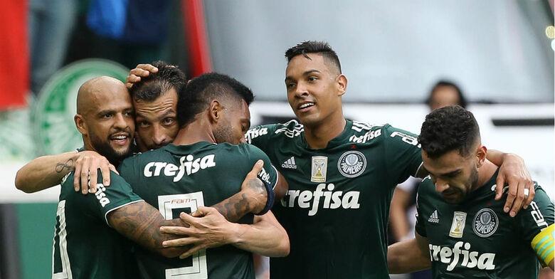 Palmeiras joga mais uma vez diante dos torcedores no Paulistão - Crédito: Cesar Greco/Ag. Palmeiras