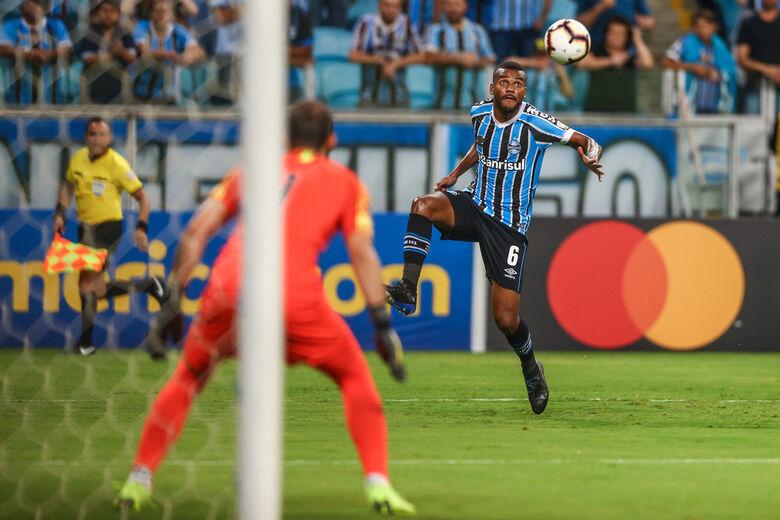 Grêmio ainda não venceu na Libertadores - Crédito: Divulgação/Grêmio