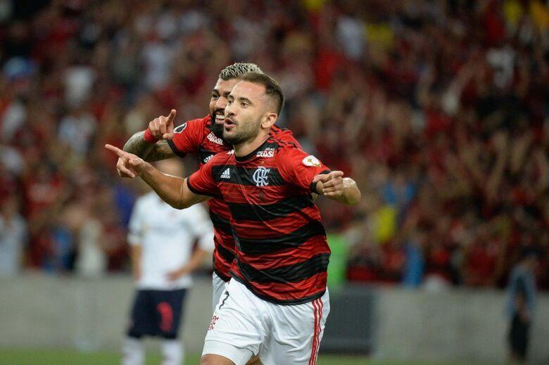 Flamengo segue com 100% na fase de grupos - Crédito: Alexandre Vidal/Flamengo