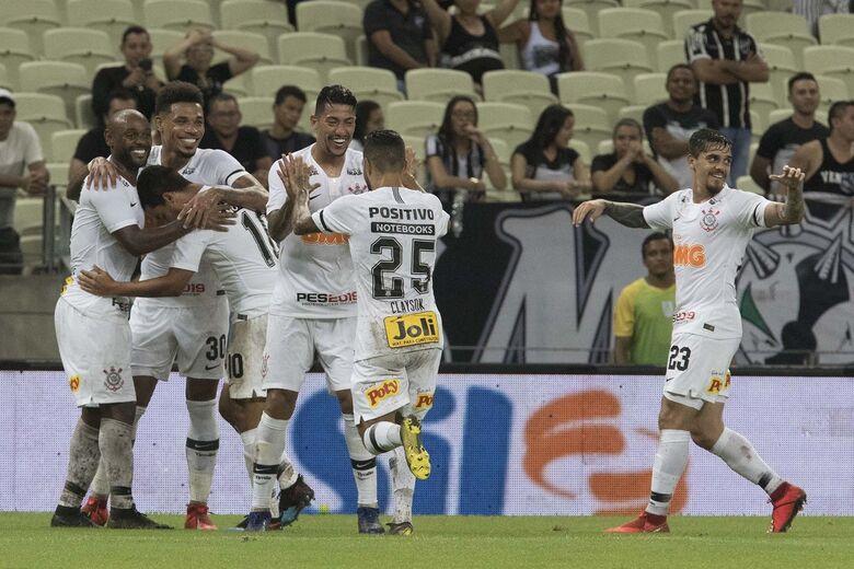Timão pode até perder por um gol de diferença em Itaquera - Crédito: Daniel Augusto Jr/Agência Corinthians