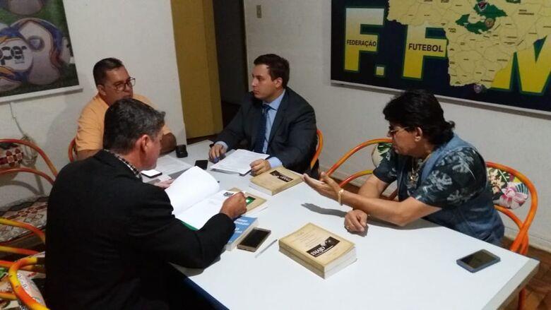 Marcada há semanas, sessão foi adiada pela falta do procurador responsável - Crédito: MS Esporte Clube/Nyelder Rodrigues