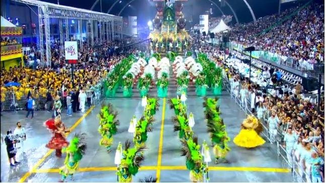 Escola conquistou seu primeiro título - Crédito: Reprodução/TV Globo