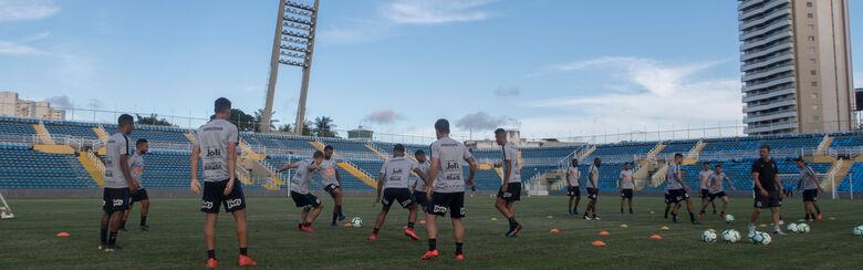 Corinthians treinou em Fortaleza nesta terça-feira - Crédito: Daniel Augusto Jr. / Agência Corinthians