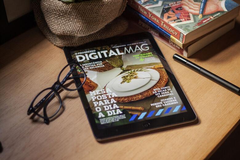 Revista Digital do O Progresso é sucesso entre leitores - Crédito: Pedro Rocha