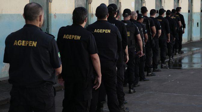 Alunos agora aguardam a classificação final e data da formatura - Crédito: Divulgação/Agepen