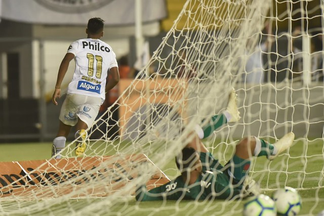 Rodrygo marcou um dos gols no clássico contra o Vasco - Crédito: Ivan Storti/Santos FC