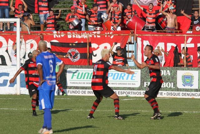 Kareca marcou o segundo gol do Águia e garantiu a virada no Noroeste - Crédito: Franz Mendes