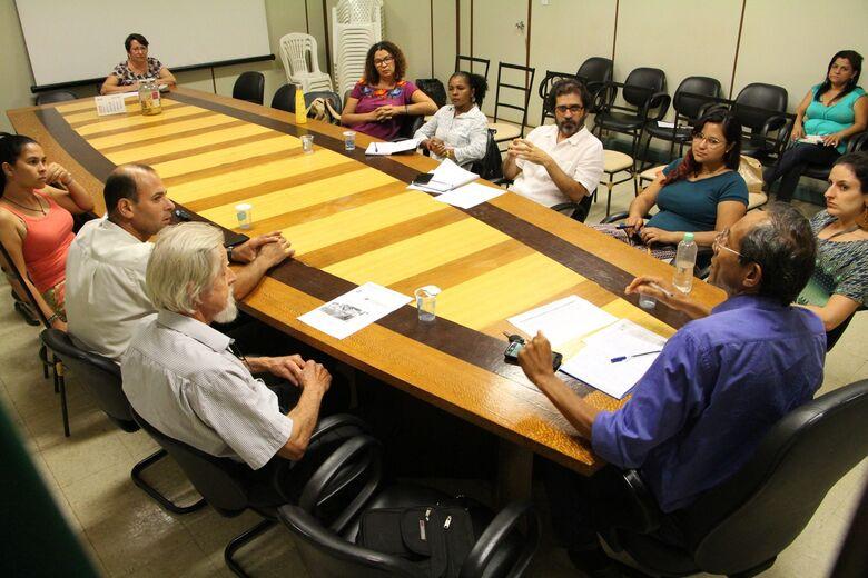 Reunião final de construção da audiência com os movimentos organizados - Crédito: Divulgação