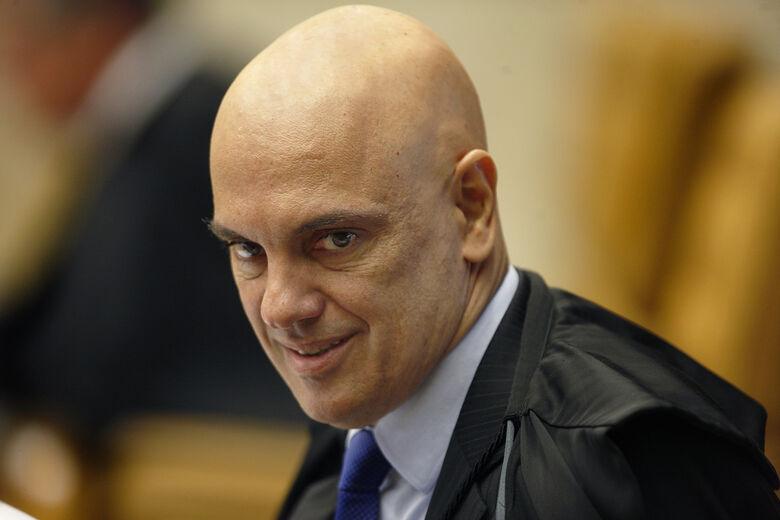 Ministro Alexandre de Moraes é o relator do inquérito instaurado pelo presidente da Corte - Crédito: Rosinei Coutinho/STF