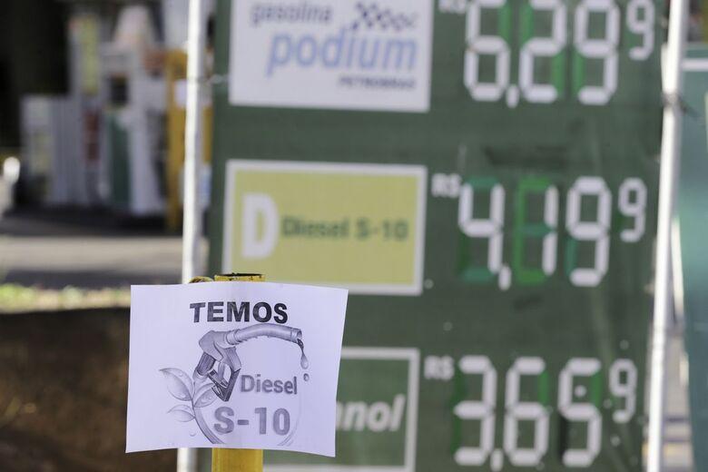 Aumento do diesel não aconteceu após pedido do presidente - Crédito: Fabio Rodrigues Pozzebom/Agência Brasil