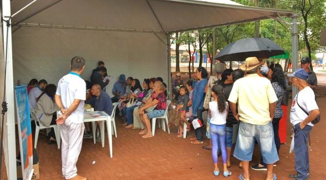 Ação neste sábado irá cadastrar e divulgar tarifa social na praça Ary Coelho, em Campo Grande - Crédito: Energisa/Divulgação