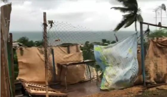 Novo ciclone causa estragos no país - Crédito: Reprodução/TV Globo