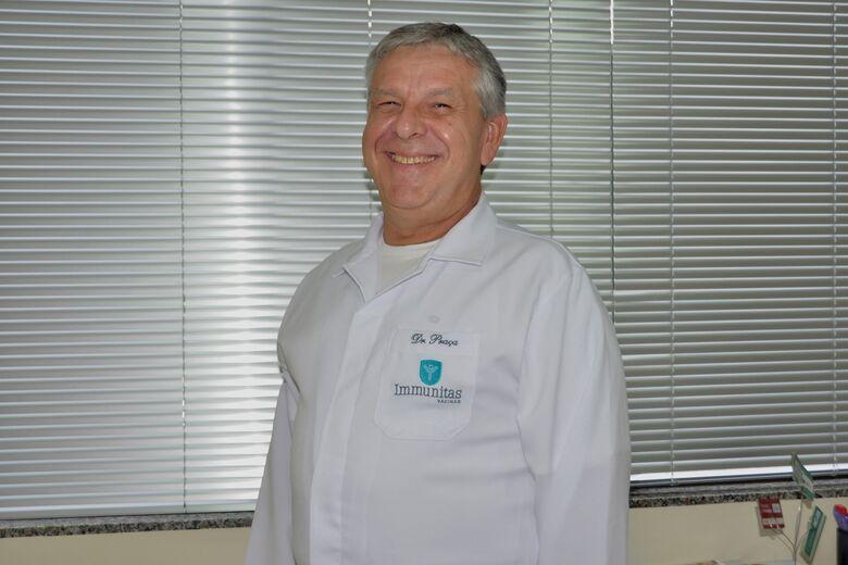 Biomédico, Dr. Antônio Carlos Guedes Praça ministrará palestra no Despertar para o Trabalho - Crédito: Arquivo Pessoal