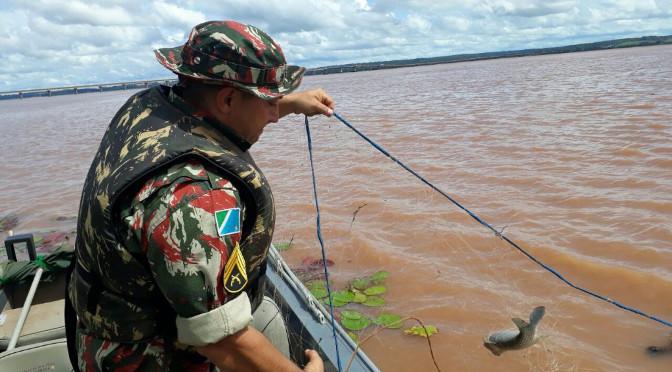 Foco será na prevenção e repressão à pesca predatória - Crédito: Divulgação