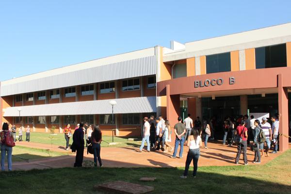 UFGD também foi incluída nos cortes das universidades - Crédito: Divulgação