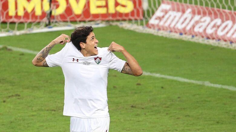 Pedro marcou um dos gols do Fluminense - Crédito: Pedro H Tesch/Agif