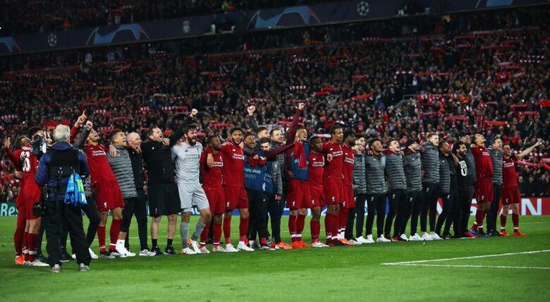 Liverpool conquista virada histórica e vai à final da Liga dos Campeões - Crédito: Divulgação/Twitter Oficial Liverpool